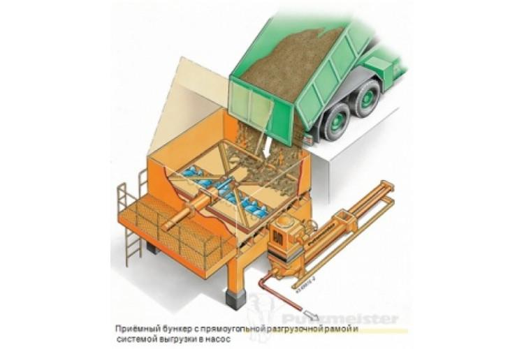 Бункеры для приёмки и хранения шламов
