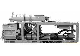 Перекачка бетона с фракцией до 16 мм BSM-1002-E