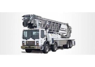 Телескопический ленточный транспортер TELEBELT® TB 39/130 на автомобильном шасси MACK MR 688 S